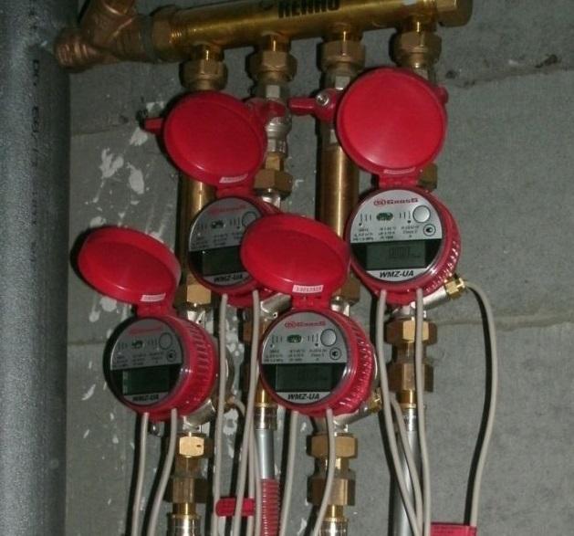 Встановлення лічильників тепла